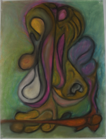 Ferrari-Nunes, Rodrigo (2010) 'Grasp' (Chalk Pastels on Aquarelle Paper)